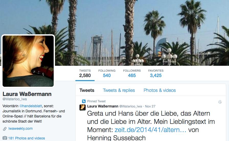 Ein Jahr mit Twitter: Lebenszeit ver(sch)wendet (1/2)