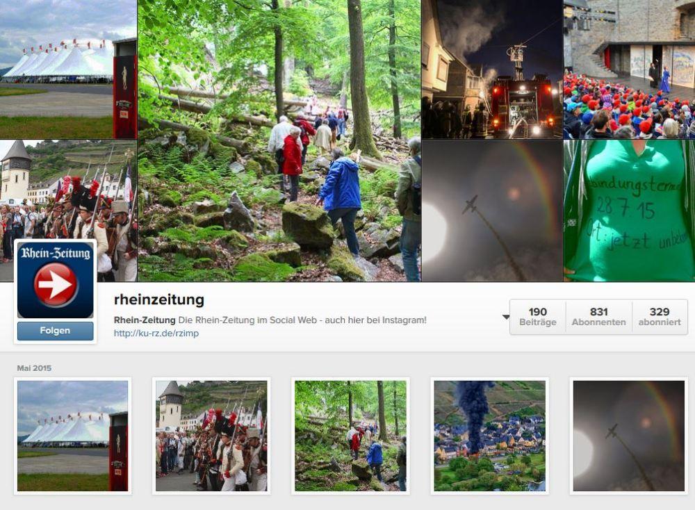 Alles fürs Image: BILD, t3n und Buzzfeed bei #Instagram (4/6)