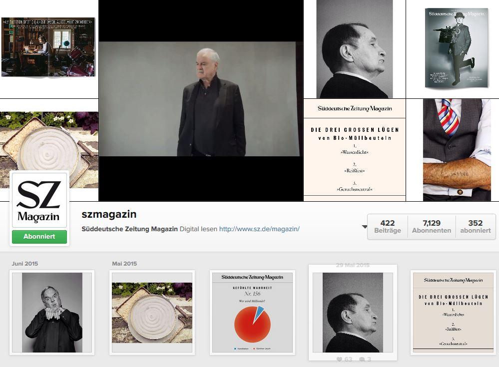 Alles fürs Image: BILD, t3n und Buzzfeed bei #Instagram (3/6)